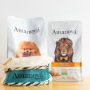 Bolsas de comida de Amanova para perros y gatos